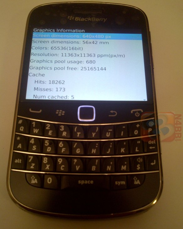 Blackberry Bold Touch ( Montana ) - Un Bold 9000 reconditionné?