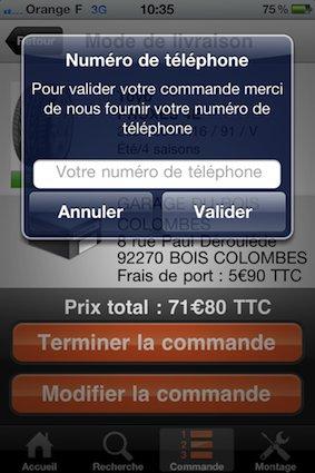 Lancement de l'application AlloPneus sur iPhone (Codes promos à gagner !)