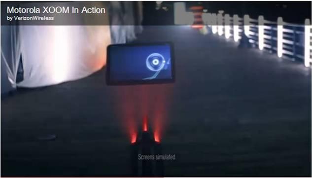 Motorola Xoom - Verizon fait du teasing