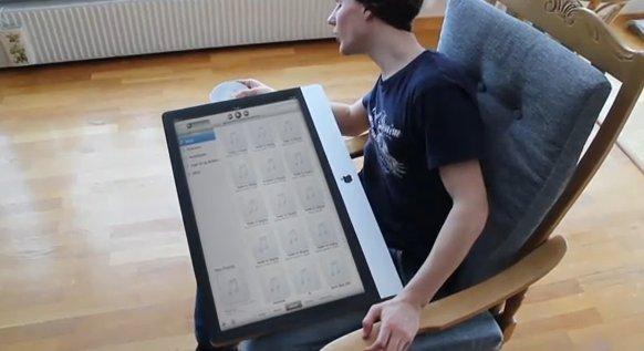 Plutôt qu'un iPad 2, prenez un iMac 2 tactile :)