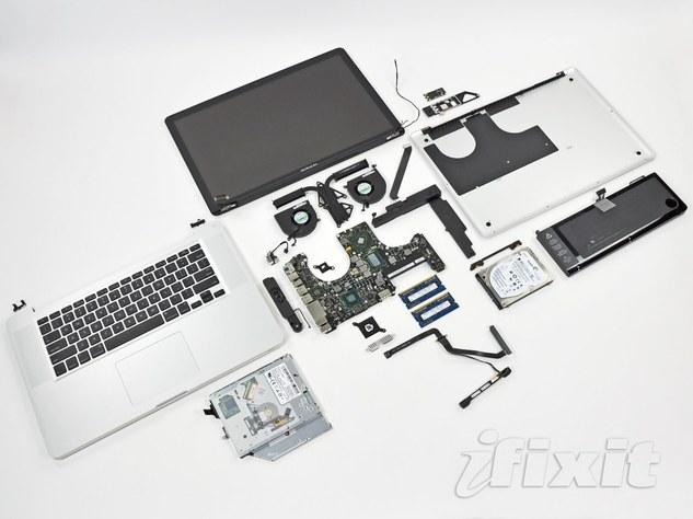 Le nouveau MacBook Pro déjà démonté !