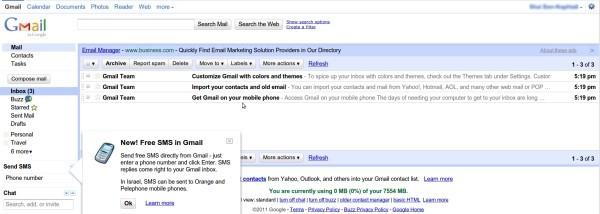 Google - Comptes Gmail remis à zéro