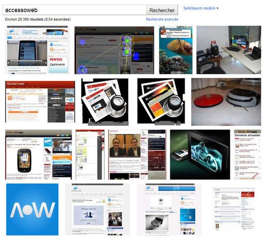 Le nouveau Google Images débarque en France