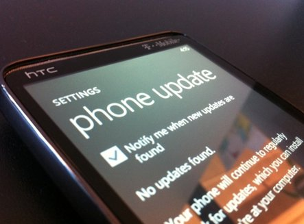 Windows Phone 7 - La mise à jour NoDo arrive