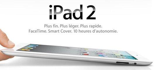 iPad 2 - en vente chez SFR le 25 mars