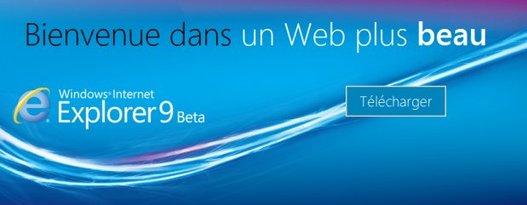Internet Explorer 9 le 15 mars en France