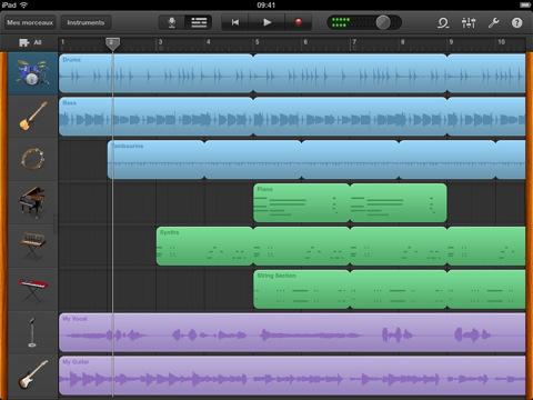 Les applications iMovie et GarageBand pour iPad sont disponibles !