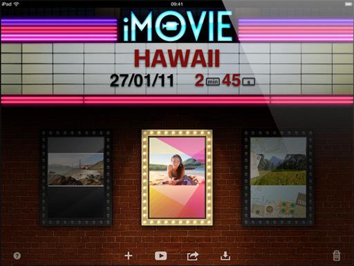 Installer iMovie sur l'iPad première génération