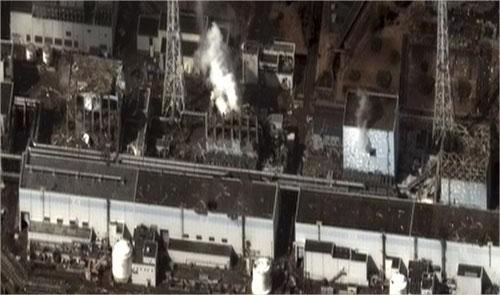 Japon - Simulation du nuage radioactif jusqu'au 20 mars