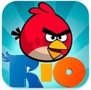 Angry Birds Rio pour iPhone et iPad est disponible