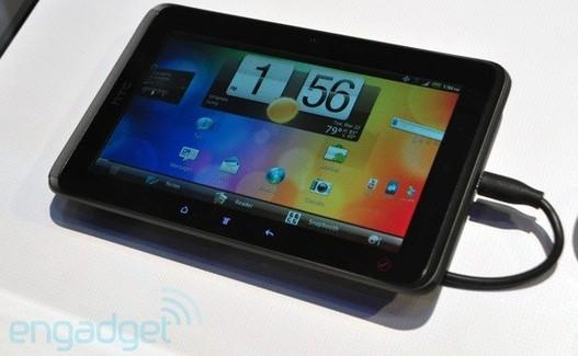 Sprint va lancer la tablette HTC Evo View 4G