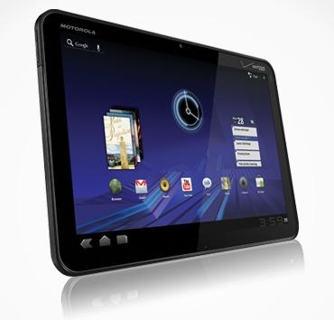 Motorola Xoom - Baisse de la production en vue