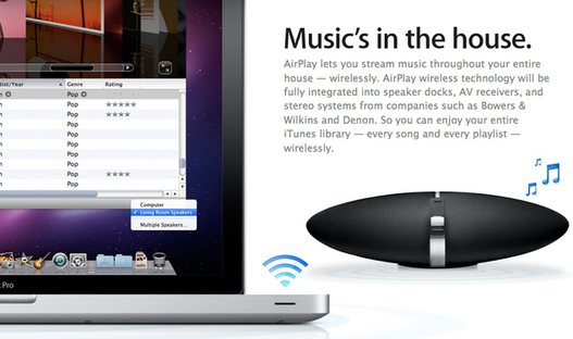 Apple pourrait proposer sa licence AirPlay