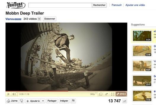 Youtube 1911 - Une autre époque