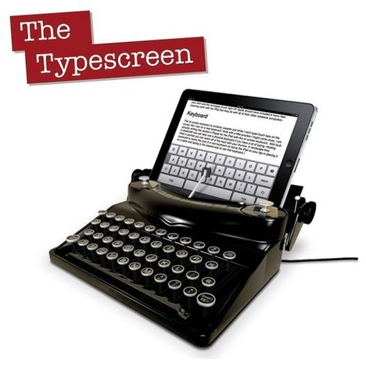 The Typescreen - Et l'iPad 2 devient machine à écrire