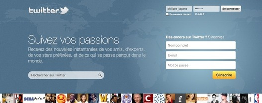 Twitter - Une nouvelle Home Page