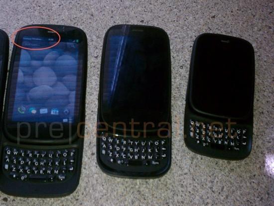 HP Web OS - Un nouveau smartphone sans clavier et un Verizon Pre 3 CDMA leaké !