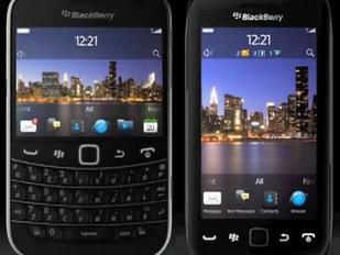 Le BlackBerry Touch 9930 en vidéo
