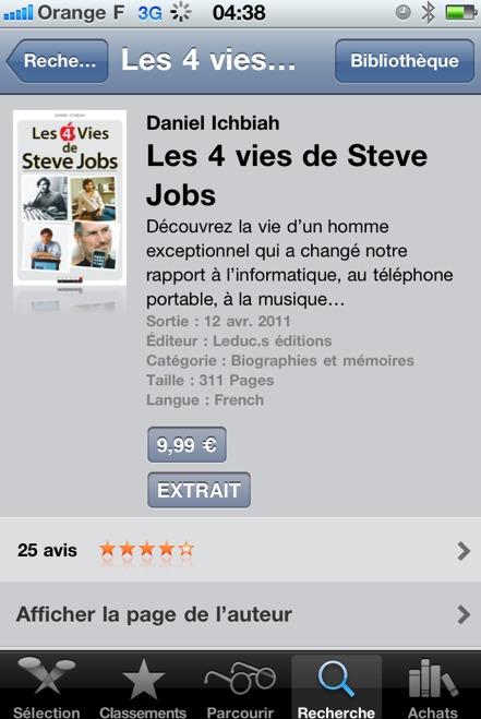 Les 4 vies de Steve Jobs