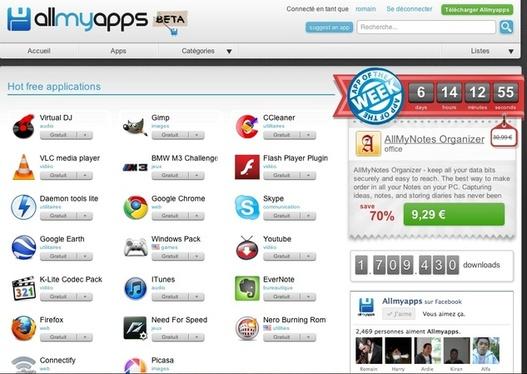 Allmyapps franchit le cap des 100 000 membres