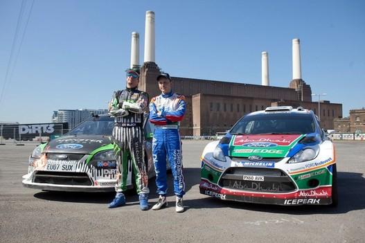 Dirt 3 - Les pilotes Ken Block et Mikko Hirvonen participent au lancement du jeu