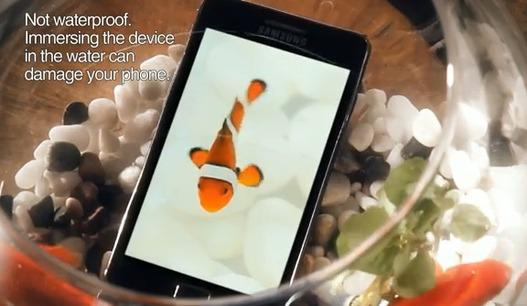 Samsung Galaxy S 2 - Une première pub plutôt sympa