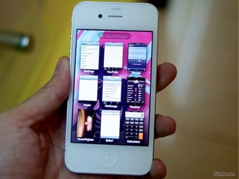 Un iPhone 4 blanc sous iOS 5, rêve ou réalité ?