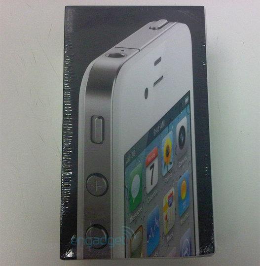L'iPhone 4 blanc pour le 27 avril
