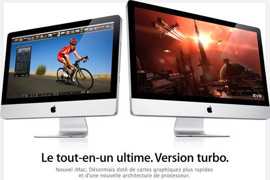 De nouveaux iMac bientôt ?
