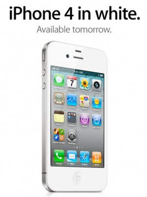 L'iPhone 4 blanc presque disponible chez Orange