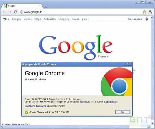 Télécharger Chrome 11 en version finale