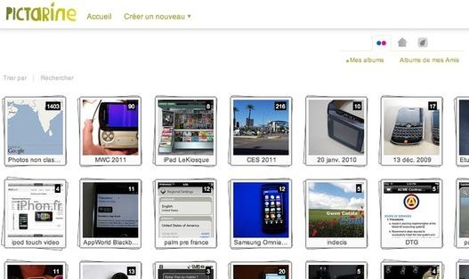 Pictarine - Partage de photos entre amis ( 100 invitations )