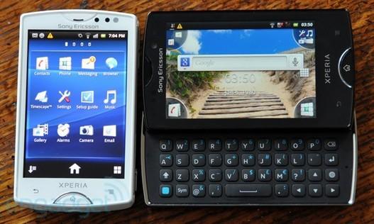 Sony Ericsson nous présente deux nouveaux modèles : Xperia Mini et Xperia Mini Pro
