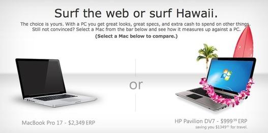 Microsoft vs Apple - Microsoft affiche les prix