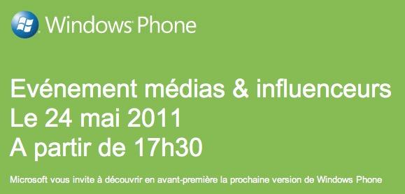 Windows Phone - Une grosse mise à jour prévue le 24 mai