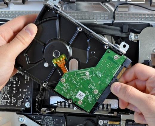 Nouvel iMac - Changement du disque dur très difficile !