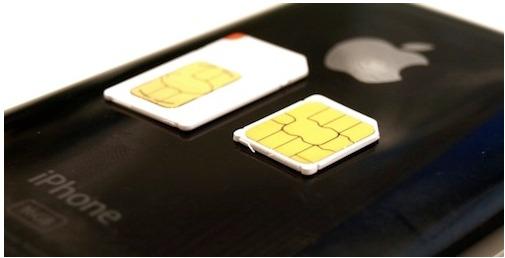 Une Nano Sim pour Apple en 2012 - Une carte Sim scellée ?