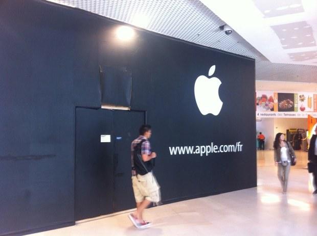 Un apple store à Lyon