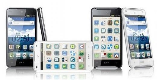 Pantech Vega Racer - Le smartphone le plus puissant actuellement