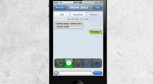 Si l'iOS 5 ressemblait vraiment au webOS (concept)