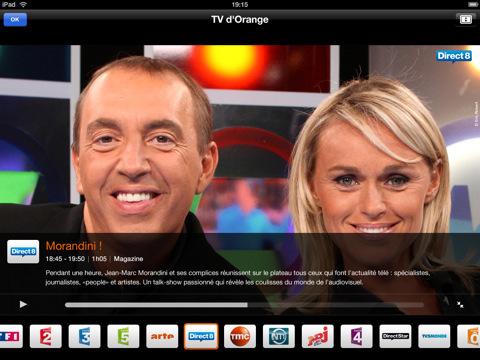 Regardez la TV d'Orange sur votre iPad en 3G et Wifi