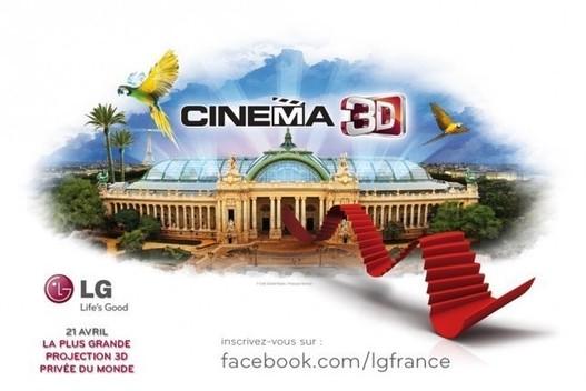 LG met le cinéma à l'honneur avec sa gamme Cinema 3D