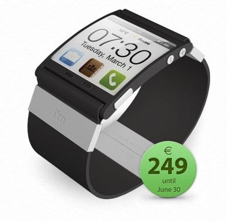 I'M Watch - La montre pour iPhone, Android et Blackberry en pré-commande
