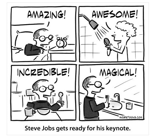 Comment se prépare Steve Jobs avant une Keynote ?