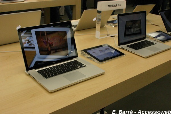 Visite de l'Apple store de Lyon Part Dieu