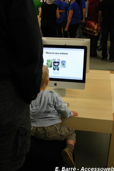 Visite de l'Apple store de Lyon Part Dieu