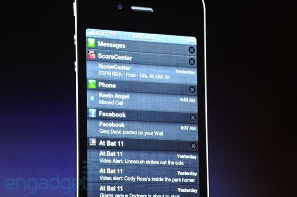 iOS 5 - Toutes les nouveautés (keynote juin 2011)