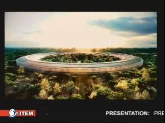 Apple veut un nouveau campus en forme de vaisseau
