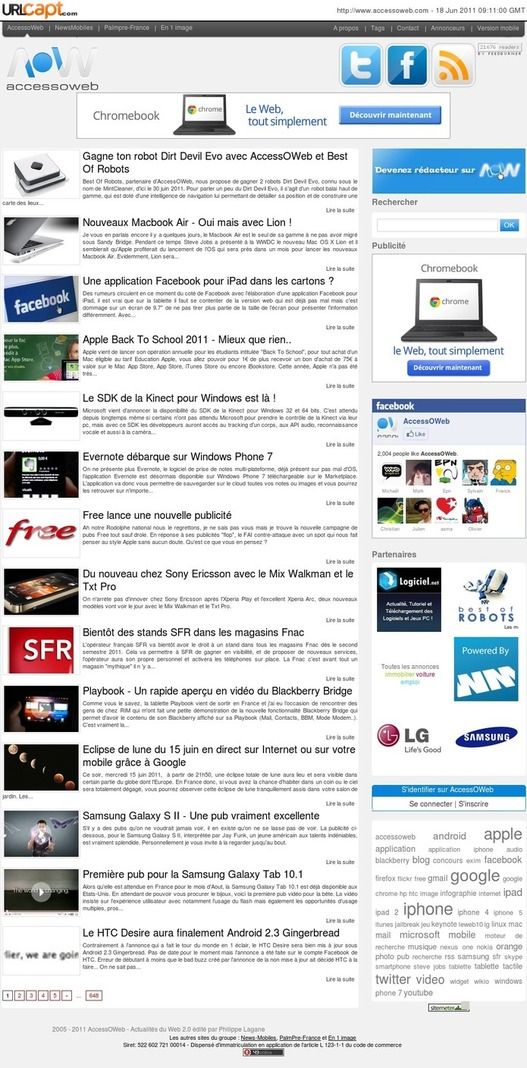 URL Capt - Faire une capture d'un site en entier
