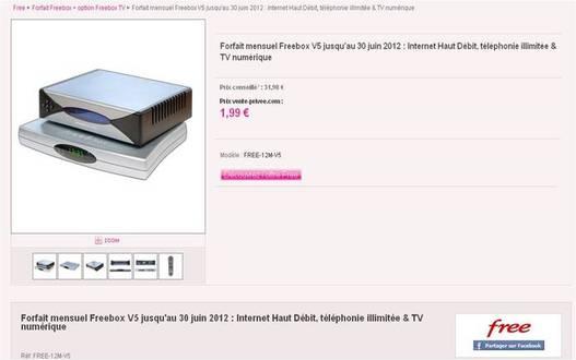Free brade son forfait internet à 1.99€/mois !